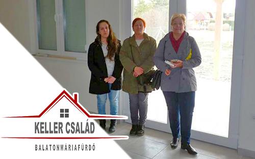 Keller család költözik