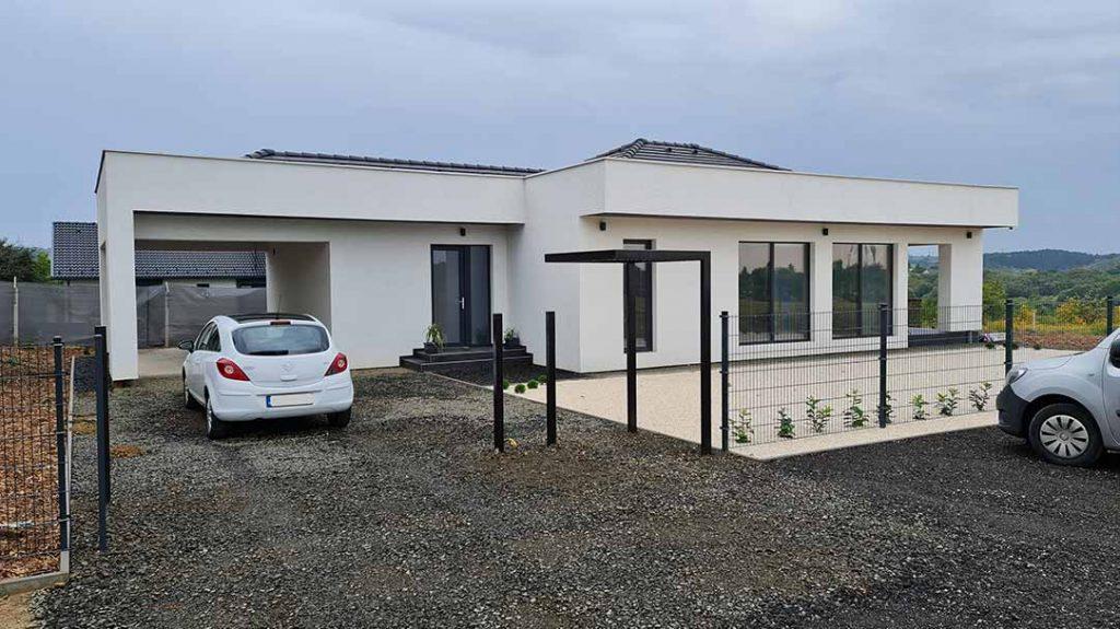 SIP ház, családi ház Kerepes, ADAM-HOUSE 3