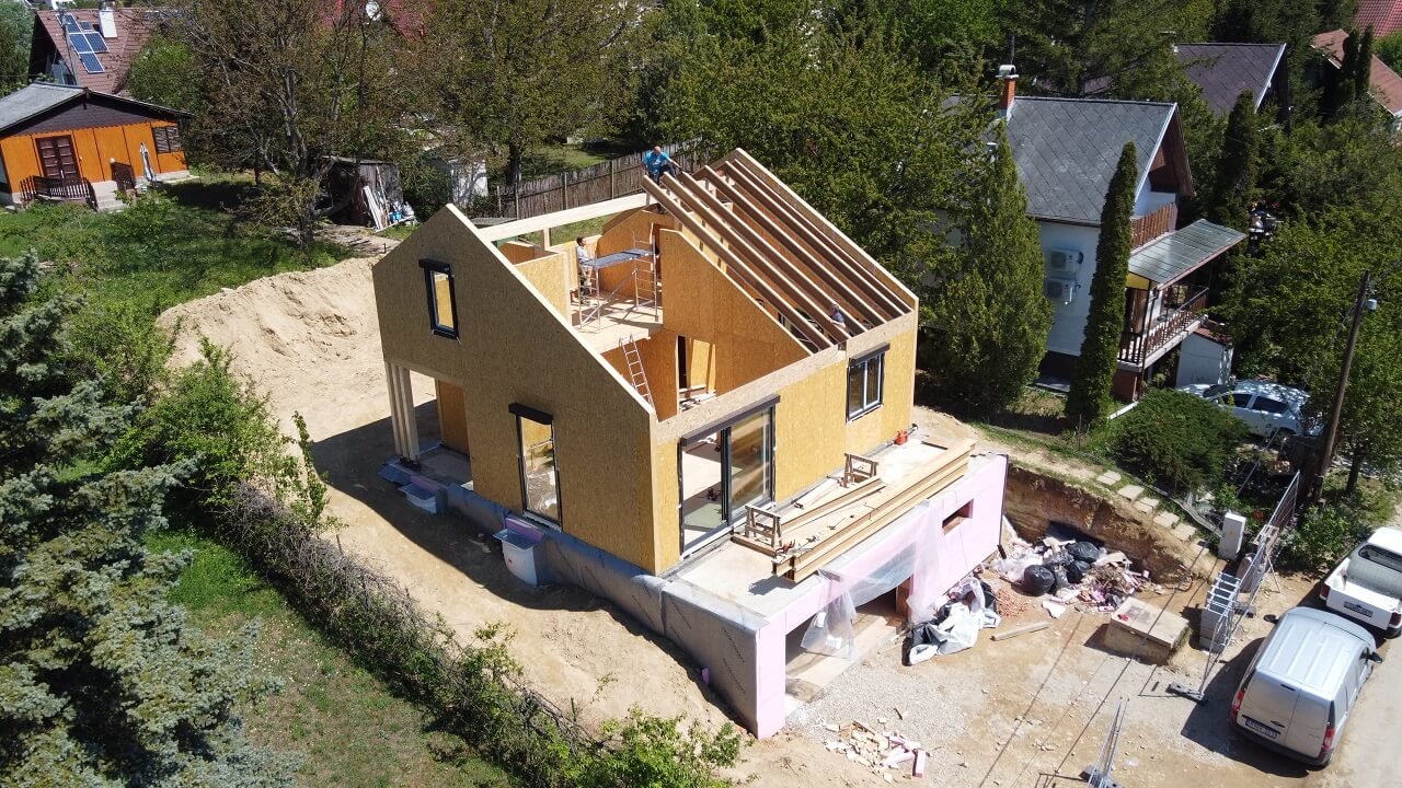 SIP ház galéria, ADAM-HOUSE, SIP technológia 8